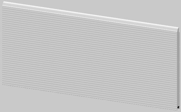 Segment bramy garażowej Krispol K2 RM