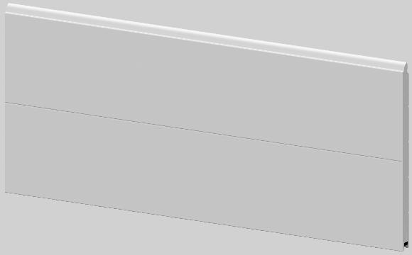 Segment bramy garażowej Krispol K2 RS