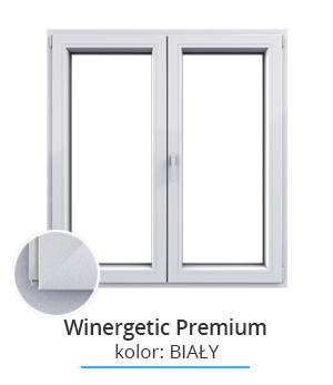 Okno Winergetic Premium, kolor: biały